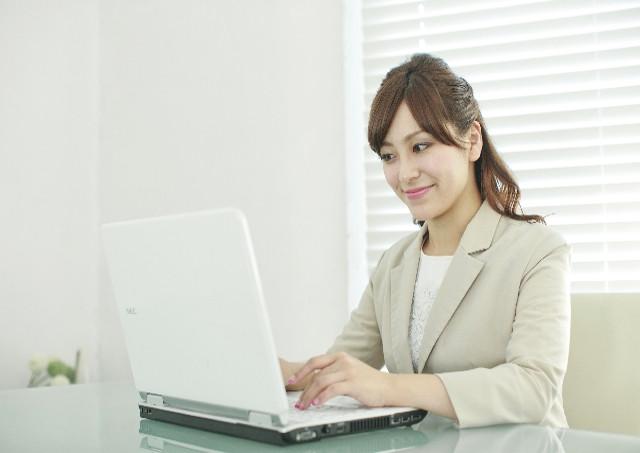 パソコンを使う時の姿勢について